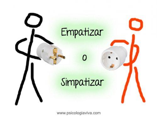empatizar o simpatizar